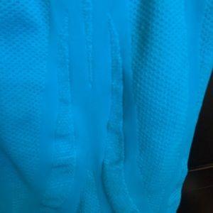 bebe Dresses - Bebe Blue Tube Dress with Back Cutout